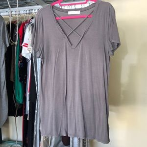 Urban Outfitters Gray Project Social T T-shirt